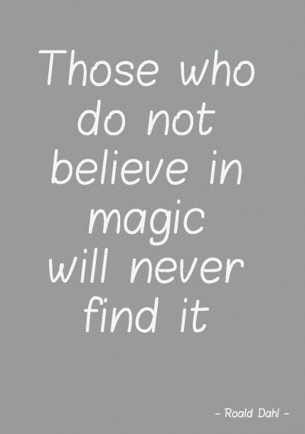 quote postkaart Those who believe in magic en tekst postkaart Studio inktvis_Pagina_02