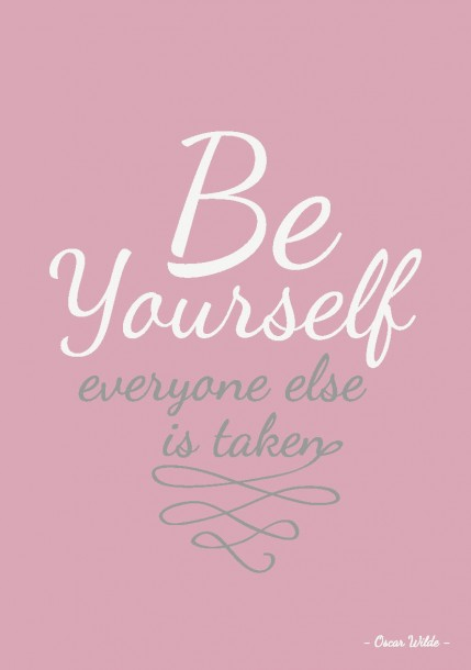 Quote Postkaart Be yourself everyone else is taken quote en tekst postkaart Studio inktvis_Pagina_10