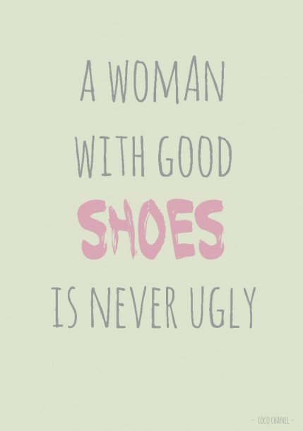 Quote postkaart a woman with good shoes is never ugly quote en tekst postkaart Studio inktvis_Pagina_23