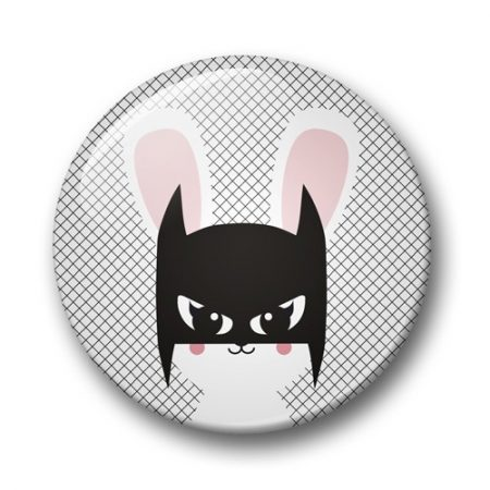 BUTTON 32 MM BATBUNNY