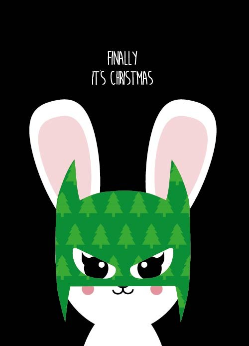 Finally it is Christmas with batbunny