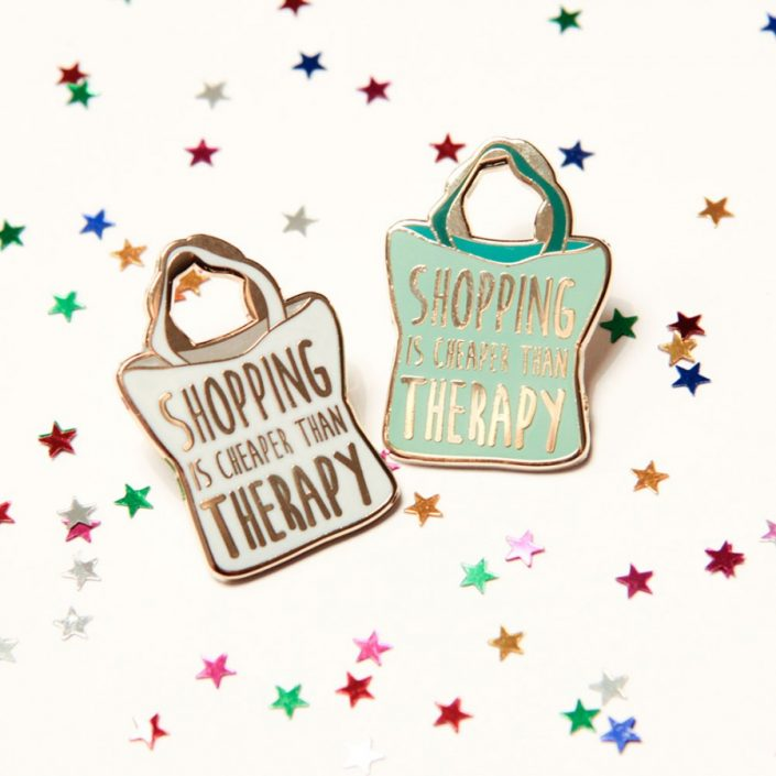 pin shopping therapy wit