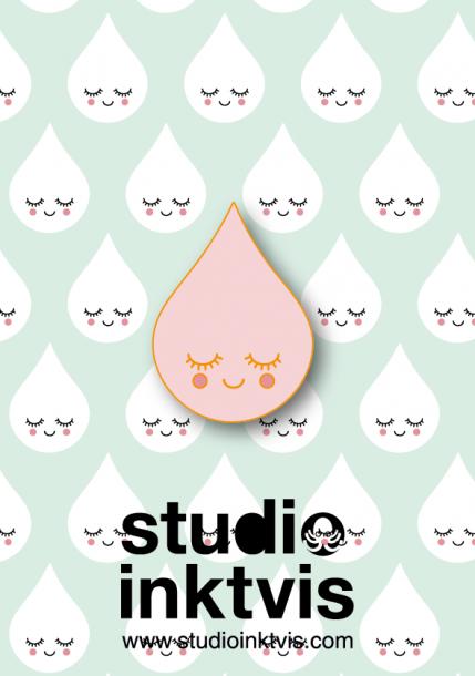 regendruppel pink pin