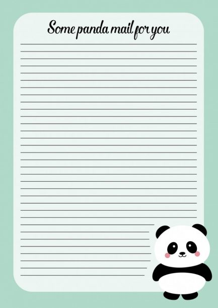 NOTITIEBLOK A5 PANDA