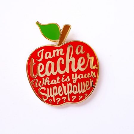 PIN I AM A TEACHER ROOD
