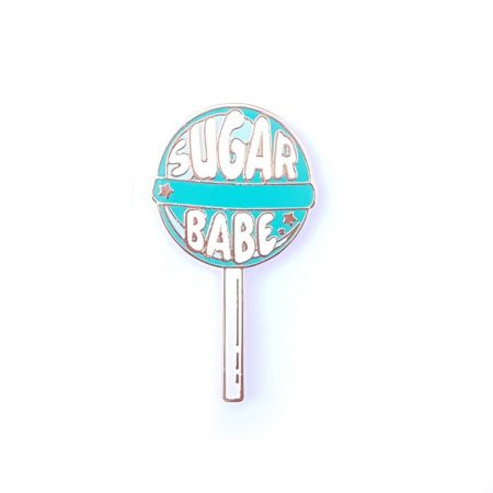 PIN LOLLIPOP SUGAR BABE MINT
