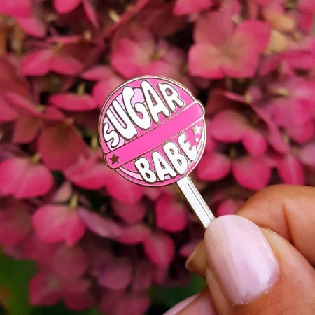 PIN LOLLIPOP SUGAR BABE ROZE