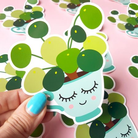 STICKER PILEA