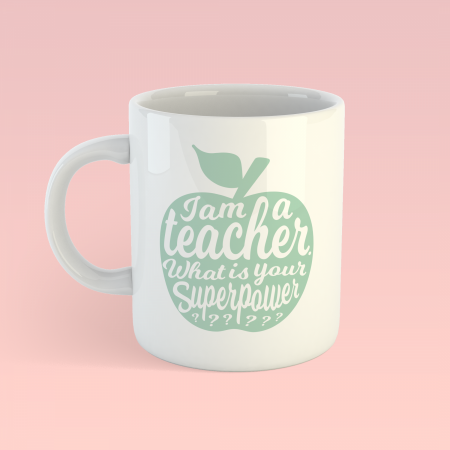 MOK I AM A TEACHER MINT