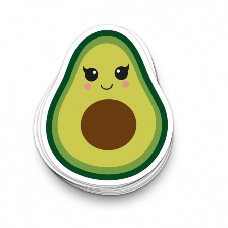 sticker avocado