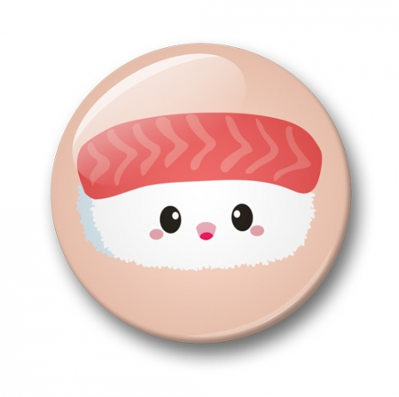 BUTTON 32 MM SUSHI