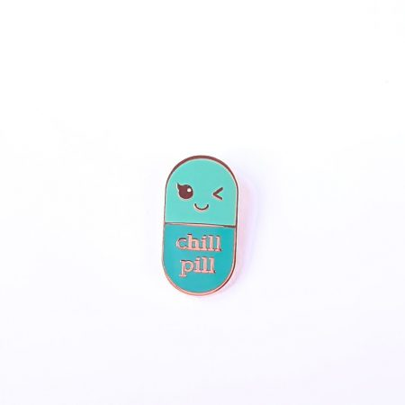 PIN CHILL PILL MINT