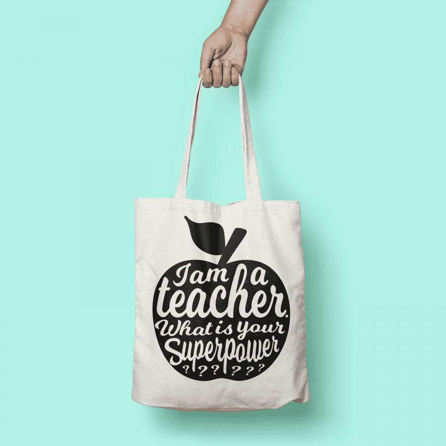 Tas A Teacher Am Inktvis I WitzwartStudio XiPkZluwOT