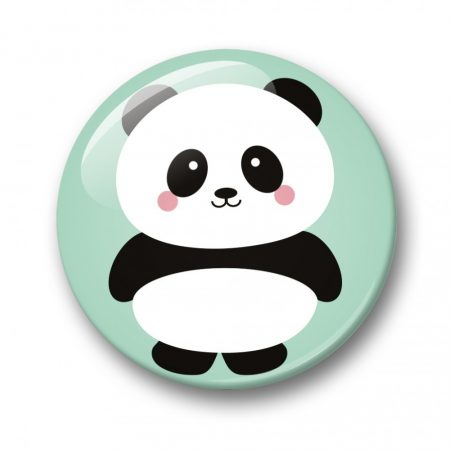 BUTTON 32 MM PANDA