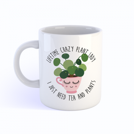 MOK CRAZY PLANT LADY PILEA TEA
