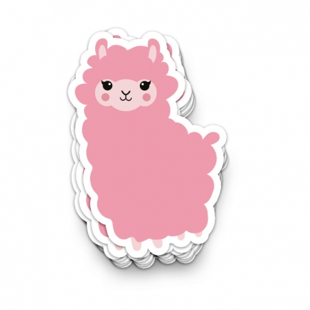 STICKER ALPACA