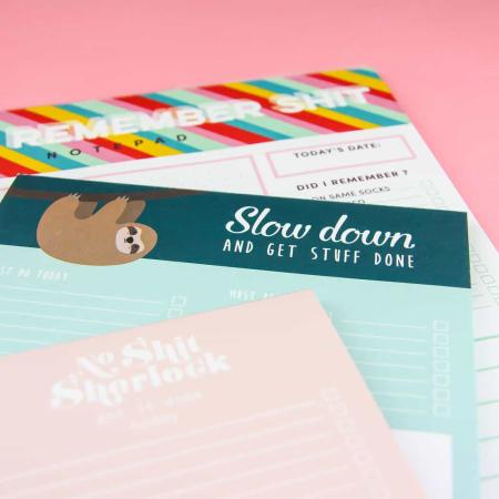 Leukste to do lijstjes , weekplanner , dagplanner en notitieblokken op een rij.