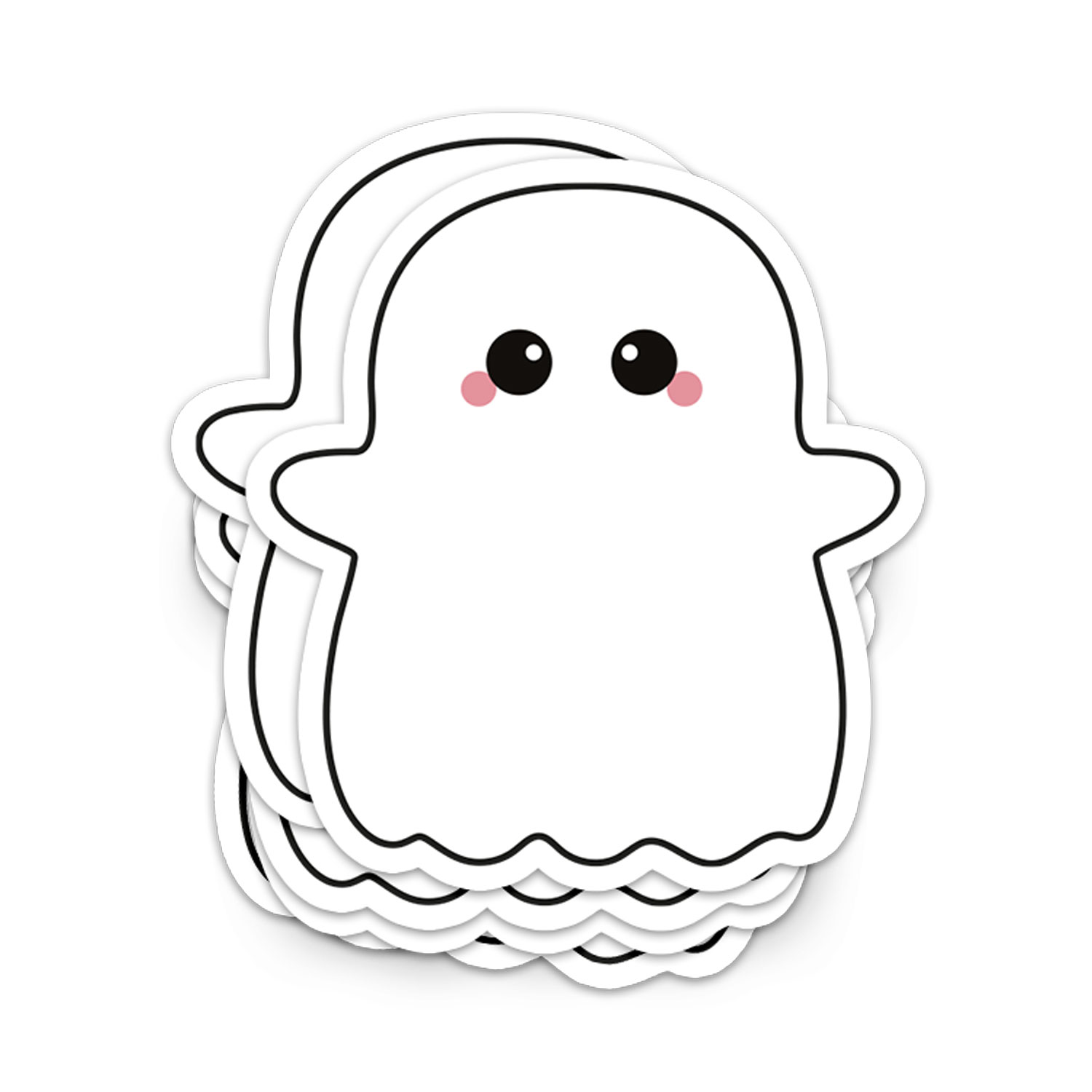 STICKER XL SPOOK