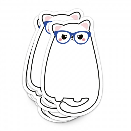 STICKER XL GRUMPY CAT