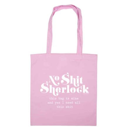 TAS NO SHIT SHERLOCK roze