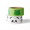 Washi panda en kikker
