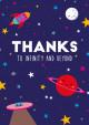 POSTKAART THANKS TO INFINITY