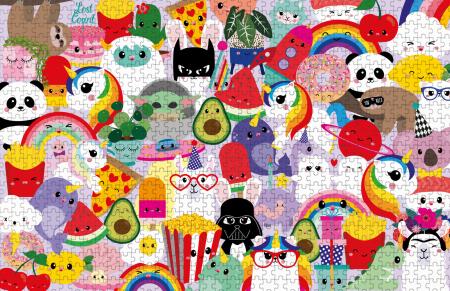 PRE-ORDER STUDIO INKTVIS KARAKTERS PUZZEL 1000 stukjes is een kleurrijke legpuzzel met heel veel bekende karakters uit de koker van Studio Inktvis. Leuk voor iedereen die van kleur houdt en een echte puzzelfanaat is.