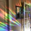 RAAMSTICKER REGENBOOG rainbow maker sun catcher